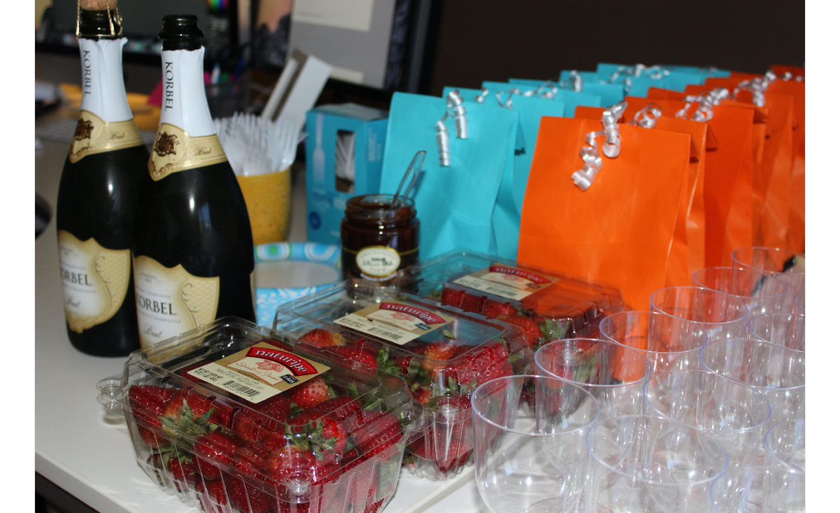 Toast and Goodie Bags