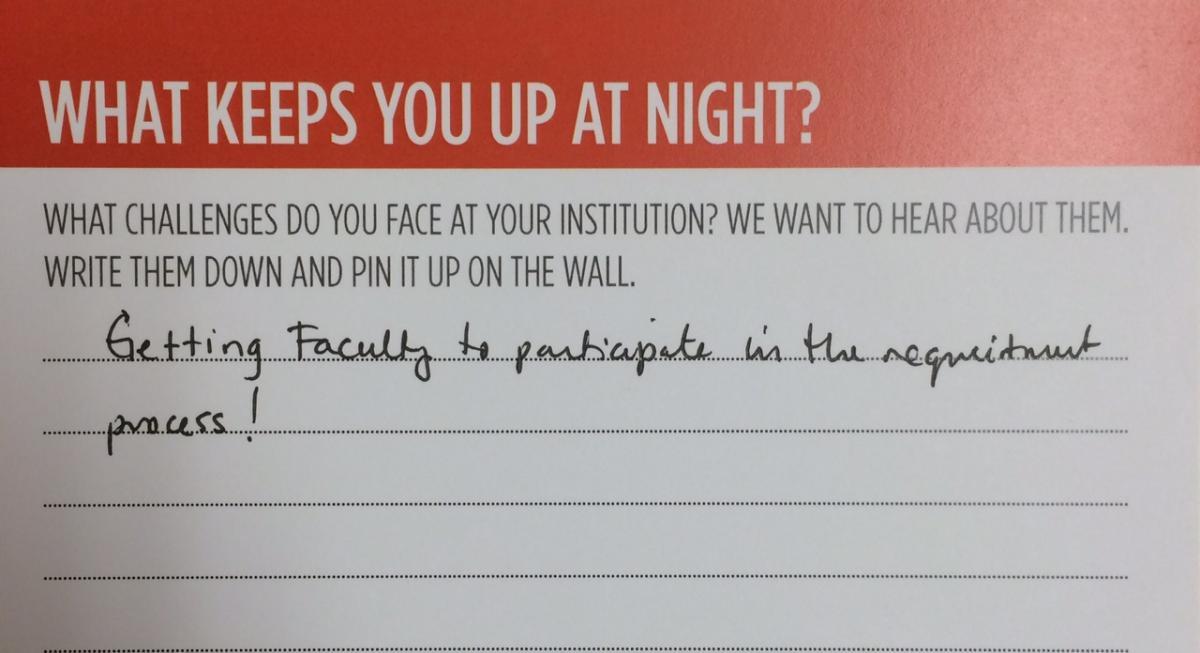 Marketing Challenge Card